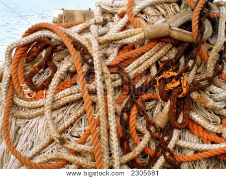 Pile Of Ropes & Nets