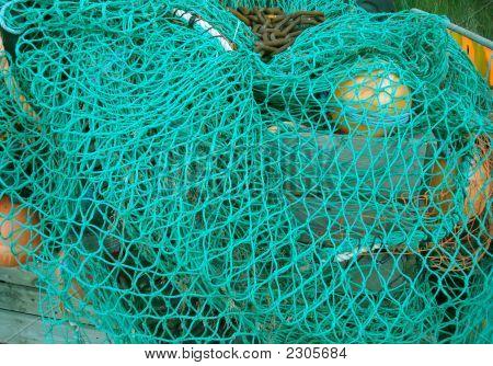 Blue Fishing Nets