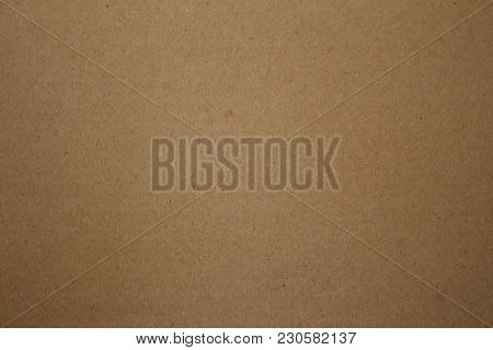 Brown Kraft Art Paper Texture Cardboard Background