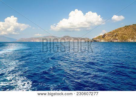 Summer View Of Aeolian Islands Archipelago, Italy