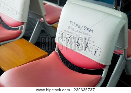 Information On The Seat In The Asian Airport- Seat Priority
