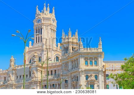 Cibeles Center Or  Palace Of Communication, Culture And Citizens