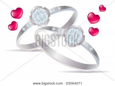 Two rings. Raster version. Vector version is in my gallery.