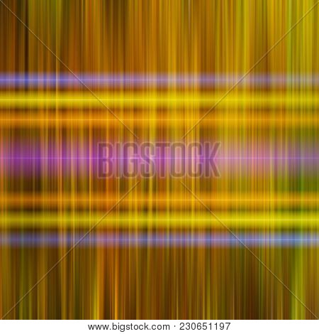 Blurred Parallel Vertical And Neon Horizontal Lines. Abstract Background. Design Element.