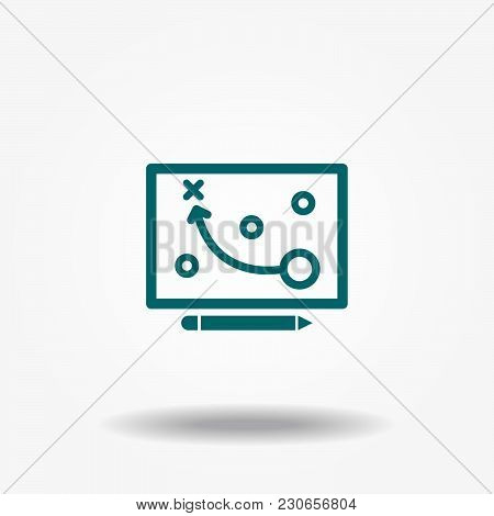 Project Planning Icon, Plan Icon Vector Sign