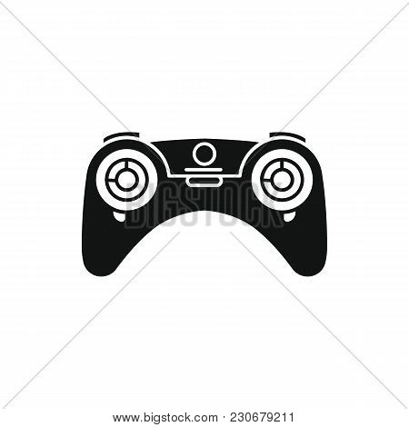 Drones Controller Icon. Silhouette Illustration Of Game Controller Vector Icon For Web And Advertisi