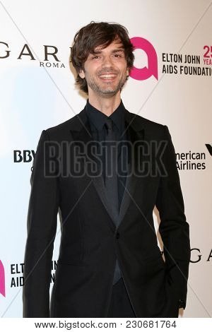 LOS ANGELES - MAR 4:  David Jarre at the 2018 Elton John AIDS Foundation Oscar Viewing Party at the West Hollywood Park on March 4, 2018 in West Hollywood, CA