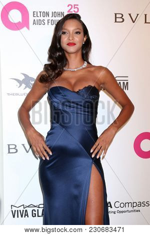 LOS ANGELES - MAR 4:  Lais Ribeiro at the 2018 Elton John AIDS Foundation Oscar Viewing Party at the West Hollywood Park on March 4, 2018 in West Hollywood, CA