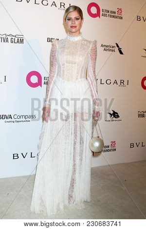 LOS ANGELES - MAR 4:  Lala Rudge at the 2018 Elton John AIDS Foundation Oscar Viewing Party at the West Hollywood Park on March 4, 2018 in West Hollywood, CA
