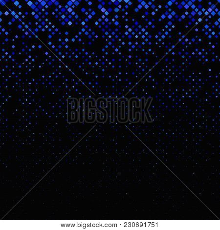 Color Abstract Diagonal Square Pattern - Vector Tile Mosaic Background Graphic Design