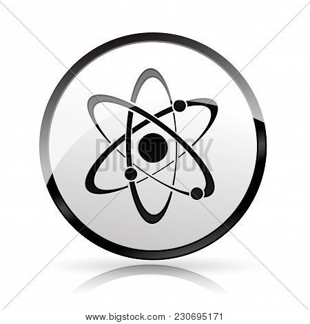 Illustration Of Science Icon On White Background