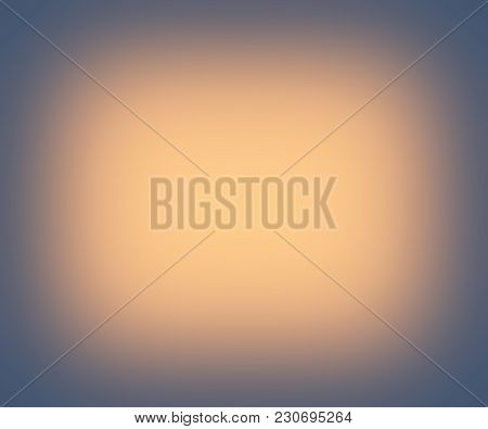A Faded Yellow Glow Border Frame Background