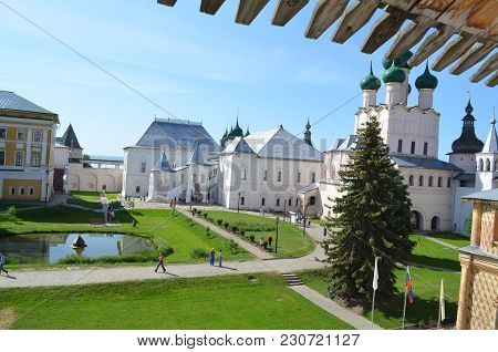 Rostov The Great, The View From The Wall Of The Church Of St. Ioann The Evangelist