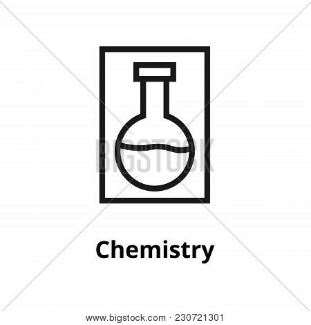 Chemistry Thin Line Icon. Icon For Web And User Interface