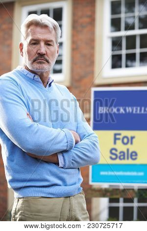 Mature Man Forced To Sell Home Through Financial Problems