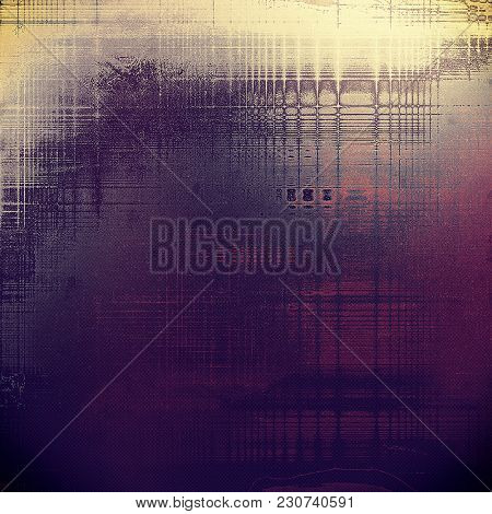 Antique vintage texture, old-fashioned weathered background. With different color patterns