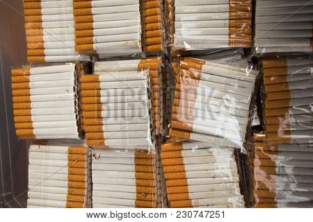 Set Of Cigarette Pockets In Stock In View