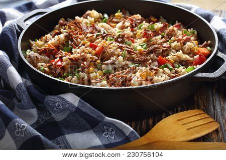 One Pot Dish - Beef And Rice