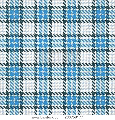 Tartan Seamless Vector Pattern. Checkered Plaid Texture. Geometrical Simple Square Background For Fa