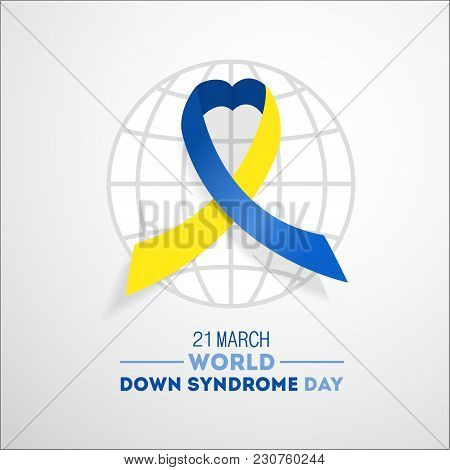 World Down Syndrome Day. Event For Mental Illness Awareness.