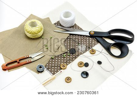 Sewing Supplies Available For Work, Sewing On Holidays Or On A Regular Basis.