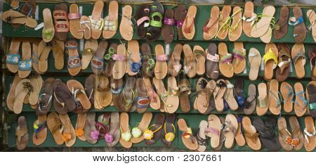 Rows Of Sandals