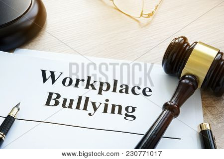 Documents About Workplace Bullying In A Court.