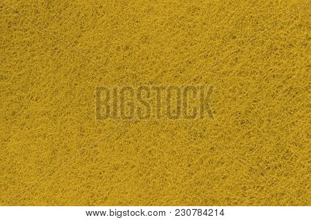 Yellow Background Of Non-woven Fibrous Abrasive Material