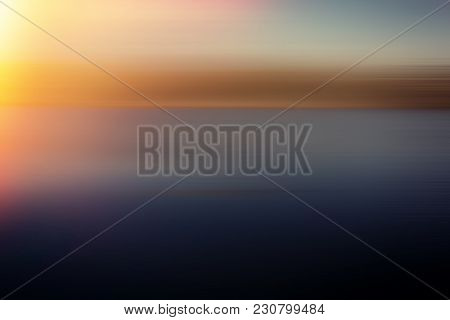 Parallel Color Lines And Light Spots. Abstract Background. Element Of Design.