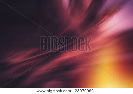 Radial Colored Curved Lines. Abstract Background. Element Of Design.