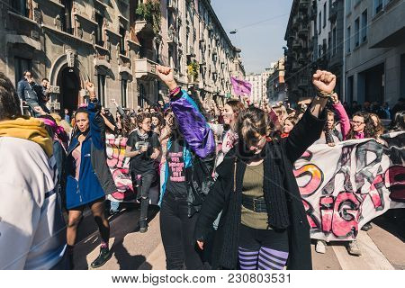 Students Celebrating The International Wome's Day