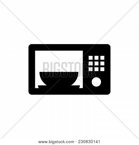 Microwave Icon Isolated On White Background. Microwave Icon Modern Symbol For Graphic And Web Design