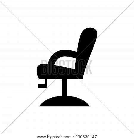Chair Icon Isolated On White Background. Chair Icon Modern Symbol For Graphic And Web Design. Chair