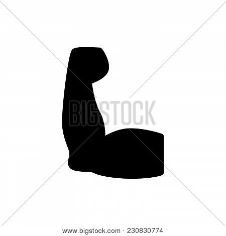 Arm Icon Isolated On White Background. Arm Icon Modern Symbol For Graphic And Web Design. Arm Icon S