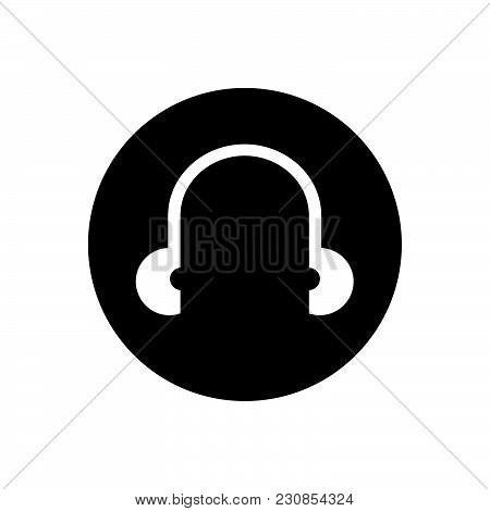 Use Headphones Vector Icon On White Background. Use Headphones Modern Icon For Graphic And Web Desig
