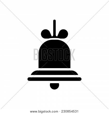 Bell Vector Icon On White Background. Bell Modern Icon For Graphic And Web Design. Bell Icon Sign Fo