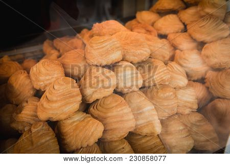 Curry Puffs Are A Very Popular Snack Item To Have Been Adapted From Amphoe Muak Lek, Saraburi Provin