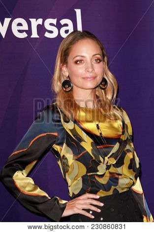 Nicole Richie arrives at the 2018 NBCUniversal Winter Press Tour at The Langham Huntington Hotel in Pasadena, California on January 9, 2018.