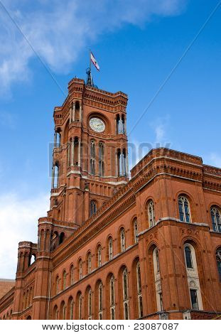 Berlins townhall - Rotes Rathaus