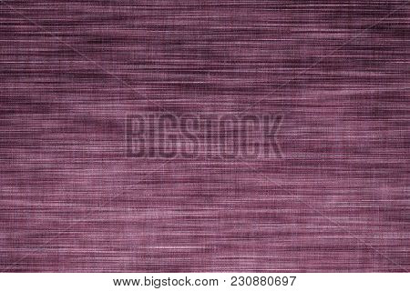 Fabric Surface For Book Cover, Linen Design Element, Texture Grunge Grenadine Color Painted.