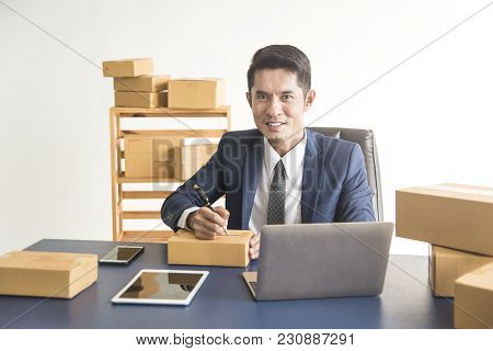 Business Digital Online Is Small Business A New Start Up In The Present For Online Shop. By Business