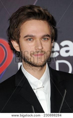 Zedd at the 2018 iHeartRadio Music Awards held at the Forum in Inglewood, USA on March 11, 2018.
