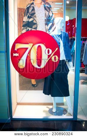 Sale Signs Sale Signs - Shopping Concept Sale Background