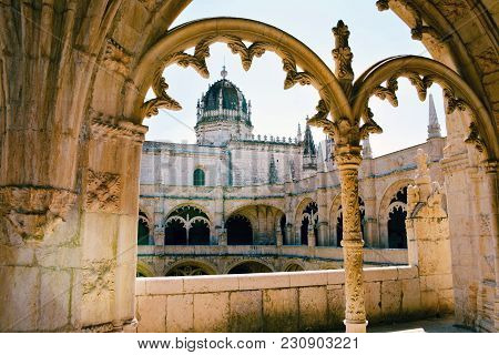 The Jeronimos Monastery Or Hieronymites Monastery, A Former Monastery Of The Order Of Saint Jerome I