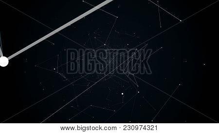 Illustration Flight In Geometric Abstraction