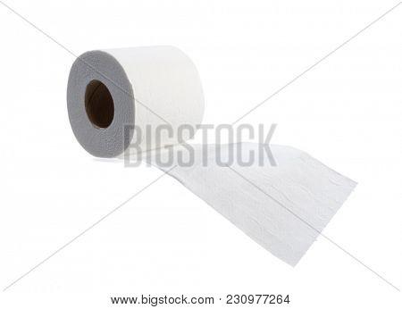 Toilet Tissue Isolated