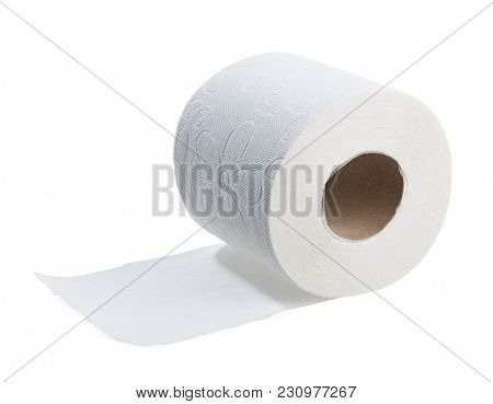 Toilet Roll Isolated