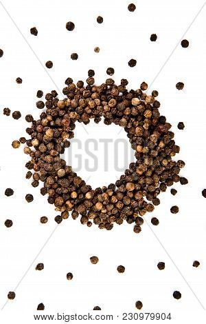 Black Pepper Studio Quality Light White Background