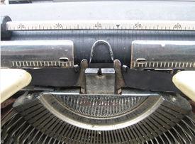 Old Typewriter - Up Close