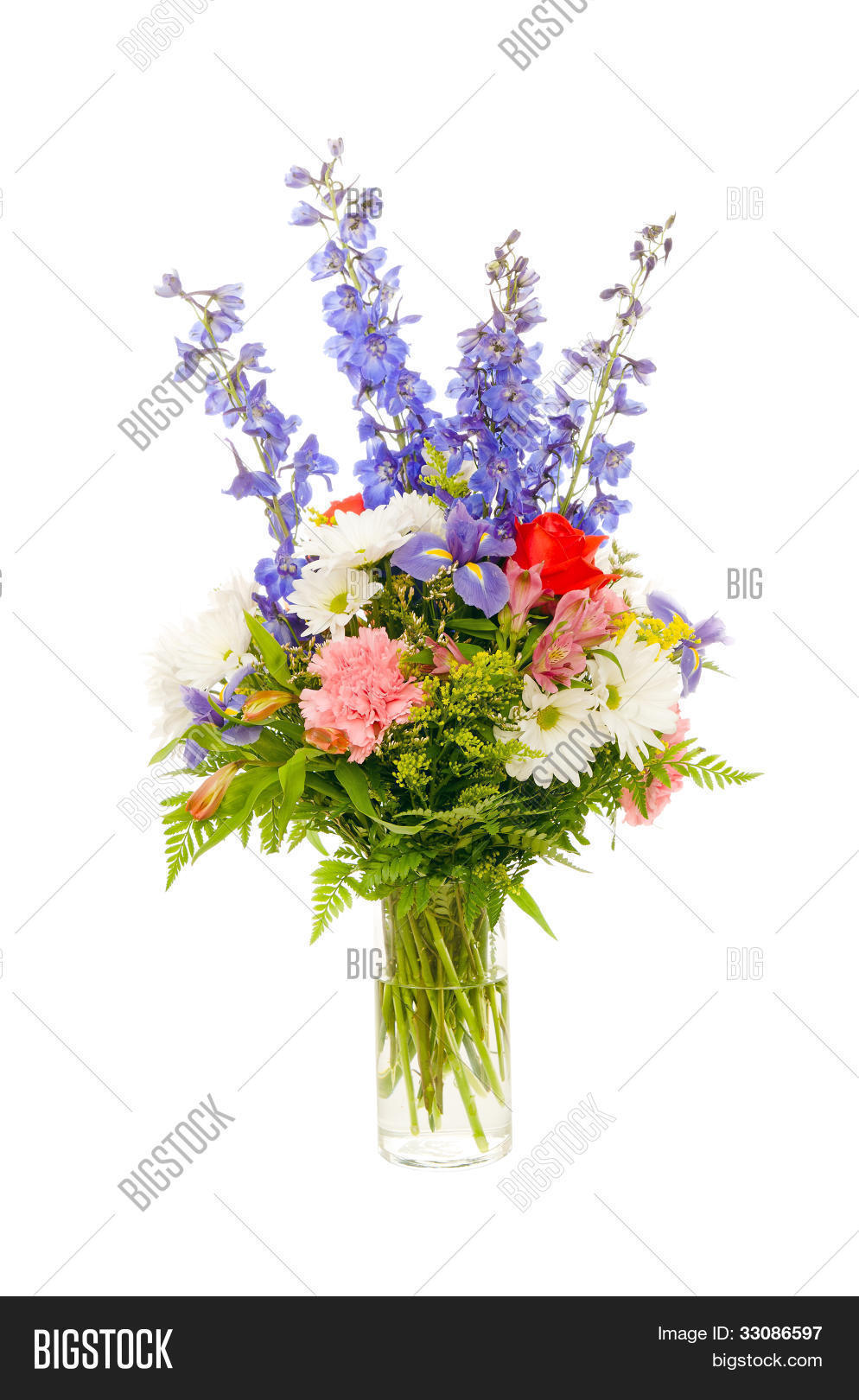 Colorful Fresh Flower Image Photo Free Trial Bigstock